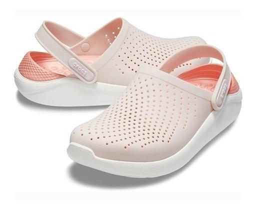 Crocs Literide Barely Pink/white Original