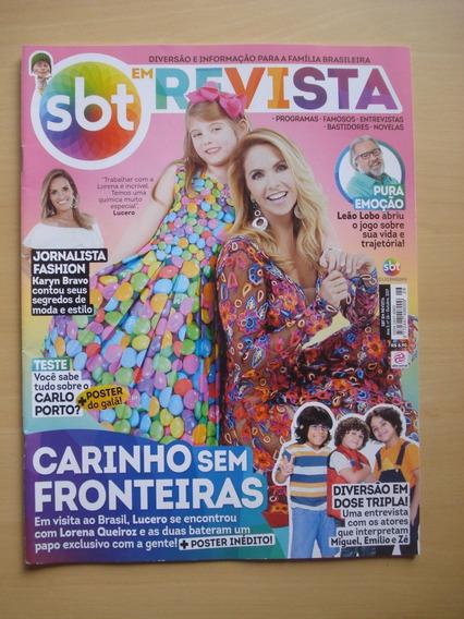 Revista Sbt Em Revista 26 Leão Lobo Carlo Porto D979
