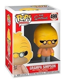Funko Pop 499 Grampa Simpson - The Simpsons