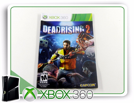 Manual Dead Rising 2 Original Xbox 360