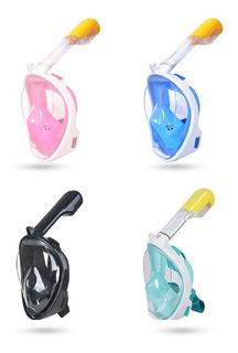 Mascara Snorkel Ninja Adaptador Accesorio Gopro Eken Playa