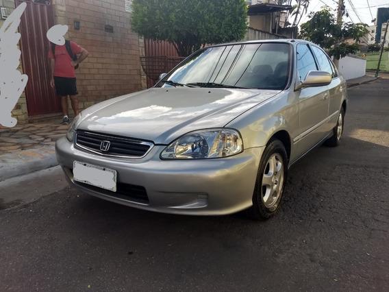Vendo Honda Civic Lx 1.6 Ano 1999 Automático