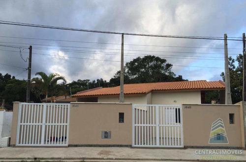 Imagem 1 de 13 de Casa Com 2 Dorms, Aguapeu, Itanhaém - R$ 190 Mil, Cod: 9597 - V9597