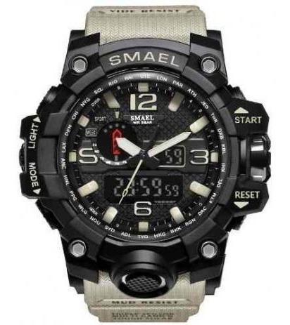 Relógio Smael Original Tático Militar, A Prova D