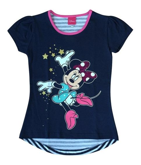 Blusa Minnie Mouse Oficial Para Niñas
