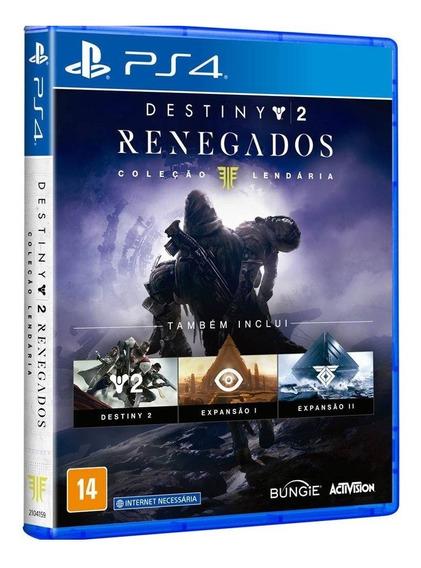 Destiny 2: Renegados - Ps4 / Mídia Física / Lacrado / Pt-br