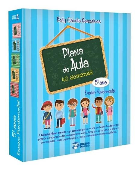 Coleção Pedagógica Plano De Aula 40 Semanas 5º Ano Rideel
