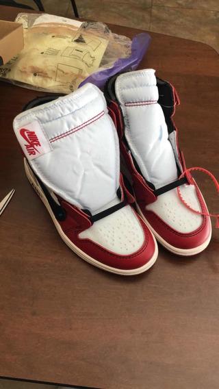 Air Jordan 1 Off-white Chicago Talla 6us