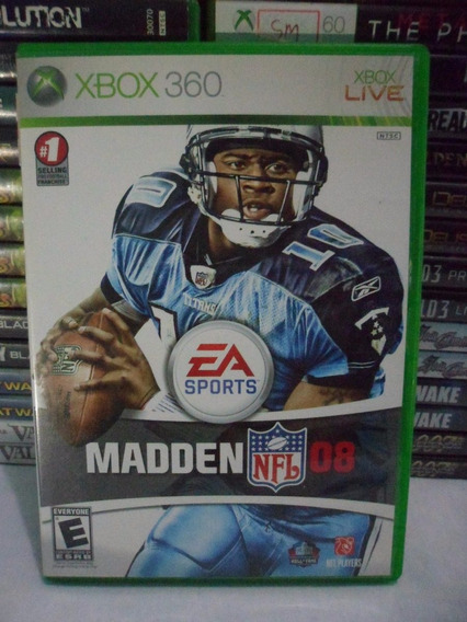 Madden Nfl 08 Xbox 360 Midia Fisica Original