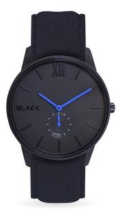 Reloj Con Cristal De Zafiro Y Máquina Miyota - Blue Black
