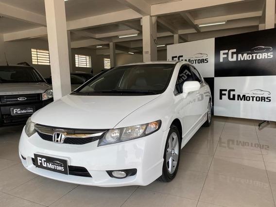 Honda Civic Branco 2010 Lxs Automático - Impecável