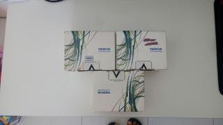 Lote Com 3 Celulares Nokia 1616 Usados