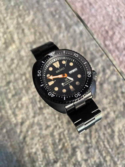 Seiko Turtle Prospex Srpc49 Black Series