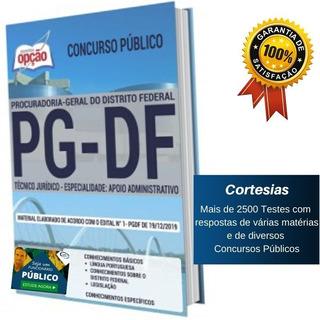 Apostila Pg Df - Técnico Jurídico Da Procuradoria Geral Df
