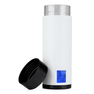 Vaso Smart 320ml Recordatorio Agua Alarma 8veces Led Sensor