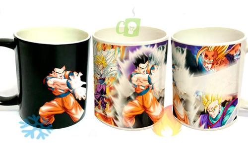 Tazón Mágico, Gohan, Goku, Dragon Ball Z