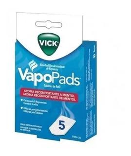 Vapopads Vick Vh5-la 5 Fragacia Mentol Para Humidificador