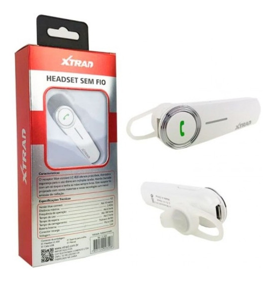 Fone De Ouvido Stereo Bluetooth Sem Fio 4.2 Lc-820 Xtrad
