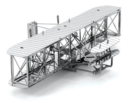 Fascinations Metal Earth Aeroplano De Los Hermanos Wright