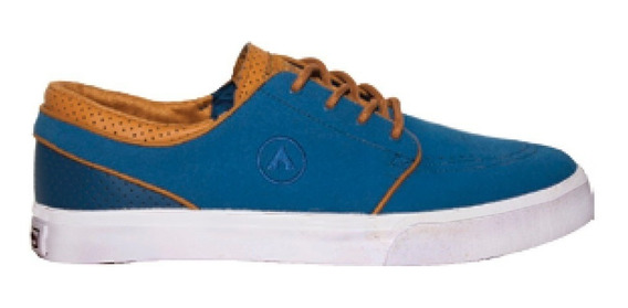 Airwalk Zapatilla Eighty-six Azul Tabaco - Bordo Celeste