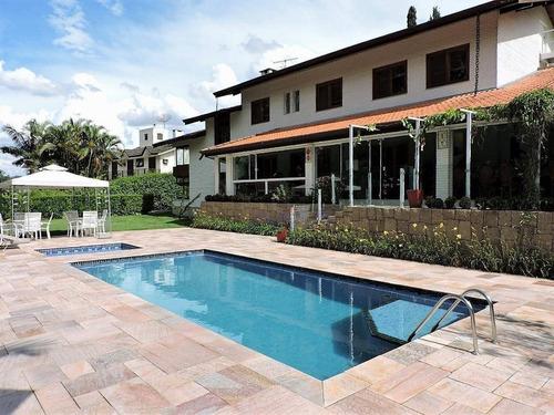 Imagem 1 de 30 de Casa Com 5 Dormitórios À Venda, 750 M² Por R$ 4.800.000,00 - Palos Verdes - Cotia/sp - Ca0073