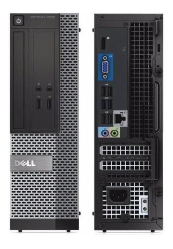 Imagem 1 de 1 de Cpu Dell I5 8gb Ssd 240gb Wifi Hdmi Win 10 Monitor 19
