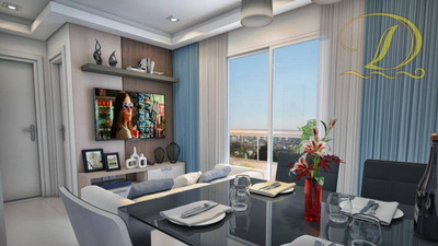 Lançamento De 01 Dormitório, Vila Guilhermina, Praia Grande/sp - Financiamento Caixa Minha Casa Minha Vida - Ap1476