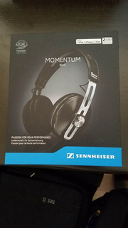 Audífonos Sennheiser Momentum 2 Black, Over The Ear