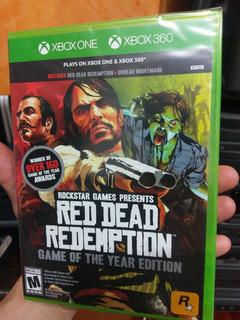 Xbox One Y 360 Dead Red Redemption Remanufacturado Sellado