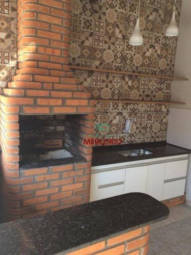 Imagem 1 de 21 de Casa À Venda, 200 M² Por R$ 375.000,00 - Residencial Jardim Jussara - Bauru/sp - Ca2789
