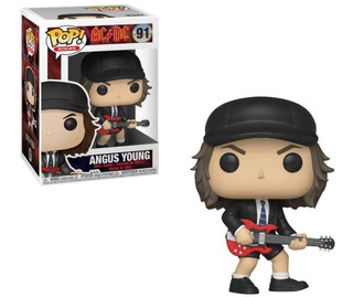 Figura Funko Pop! #91 Angus Young Ac Dc 100% Original