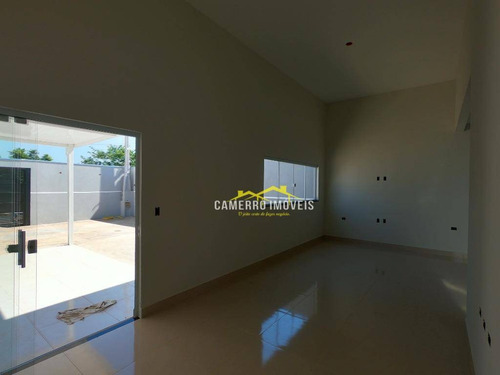 Imagem 1 de 18 de Casa Com 3 Dormitórios À Venda, 113 M² Por R$ 480.000,00 - Terra Azul - Santa Bárbara D'oeste/sp - Ca2278