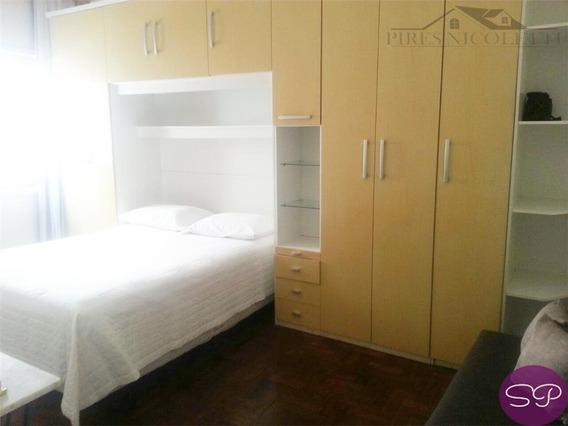 Kitnet Residencial À Venda, Gonzaga, Santos. - Kn0105