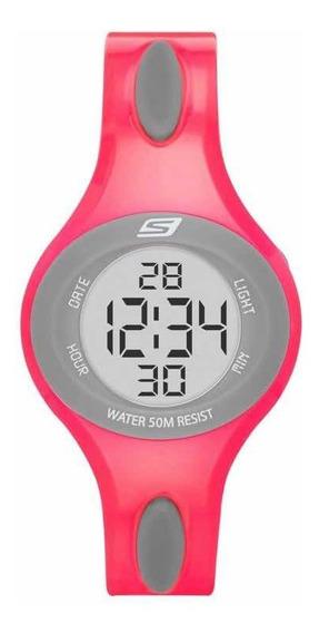 Reloj Rosa Skechers Digital