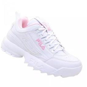 Sapato Branco Pronta Entrega Fila Branco Garanta Ja!!