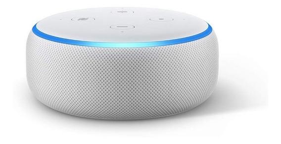 Echo Dot Amazon Smart Speaker Com Alexa 3° Geração