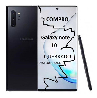 Compro Samsung Galaxy Note 10 Quebrado