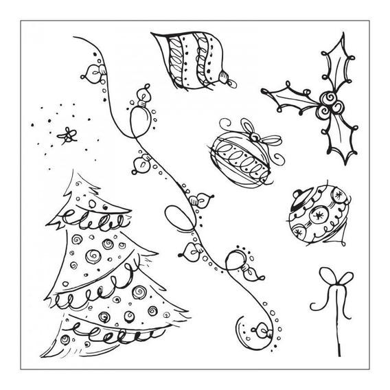 Scrapbook Suaje Cortar Papel Sizzix Navidad Troquel Sellos