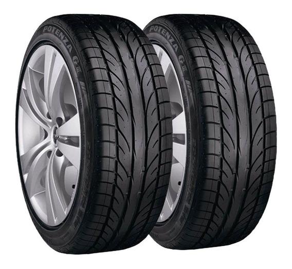 Paquete 2 Llantas 195/60 R14 Bridgestone Potenza Giii 86h