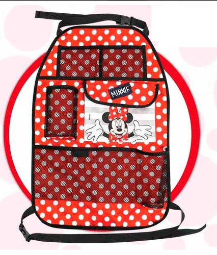 Bolso Organizador Porta Tablet Libro Botella Disney Minnie