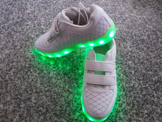Zapatillas Con Luces Led Niños