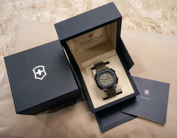 Relógio Victorinox Último Modelo Verde Militar
