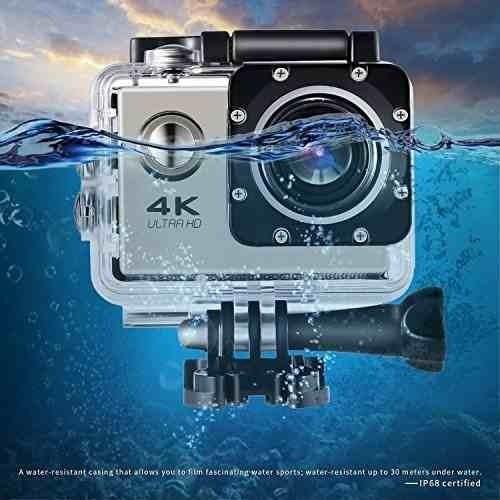 Cam Wifi Câmera Capacete Esporte Mergulho Hd 1080p 4k