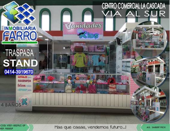 Traspasa Stand Ubicado En El C.c. La Cascada Ve01-0029lc-sp