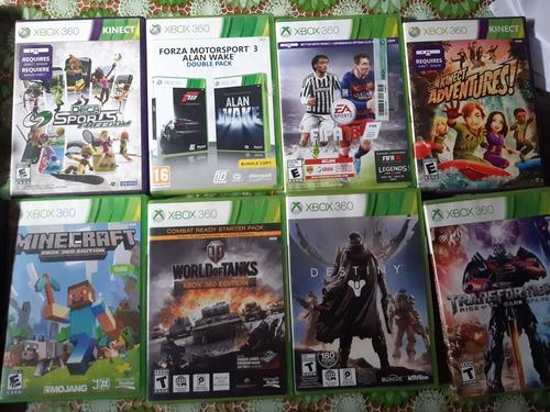 Xbox 360+kinect+ Un Joystick+ 6 Juegos Fisicos Originales+