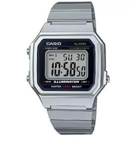 Relógio Vintage Unissex Prata + Caixa