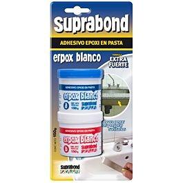 Adhesivo Epoxi En Pasta Erpox Blanco Suprabond