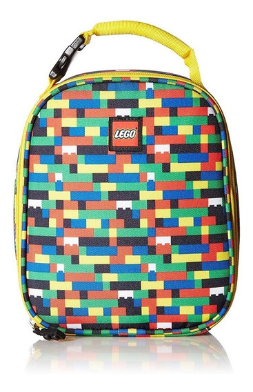 Lego Lego - Mochila Para Almuerzo, Amarillo, Una Talla
