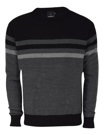 Sweater Combinado Con Rayas | Dogma (19200)