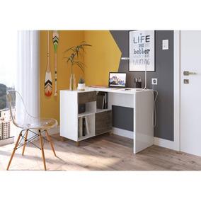 Escrivaninha 1 Porta 1 Gaveta Flex Montagem Londres Eb
